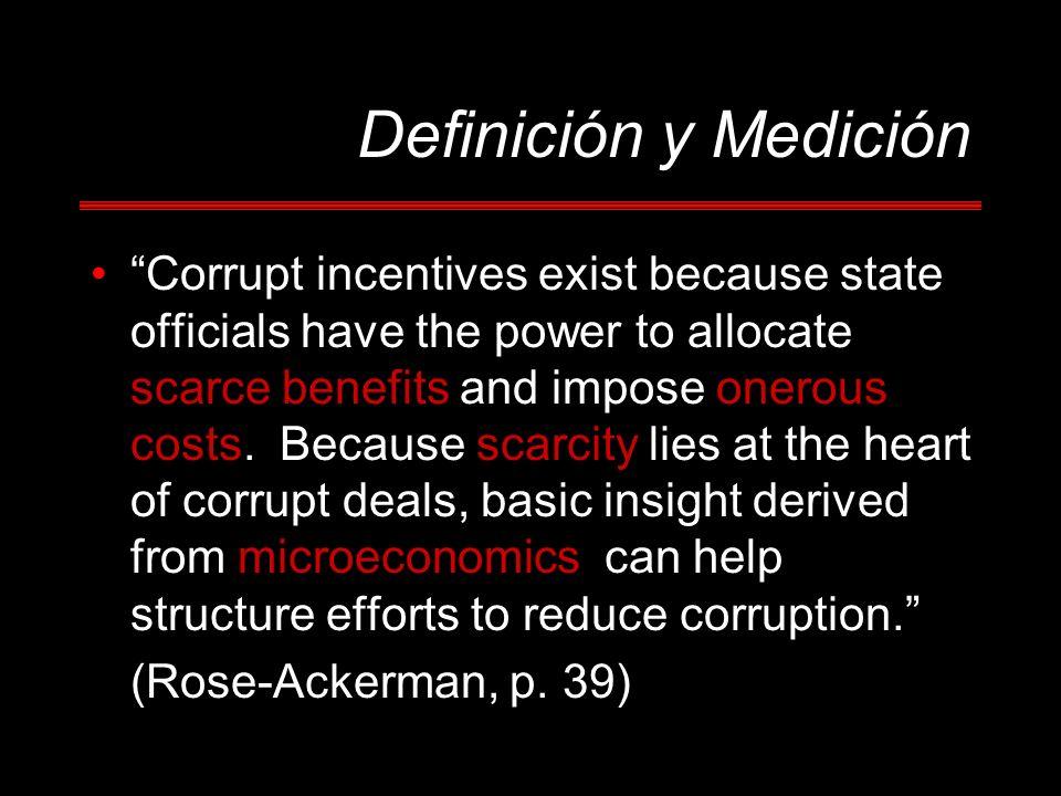 Definición y Medición
