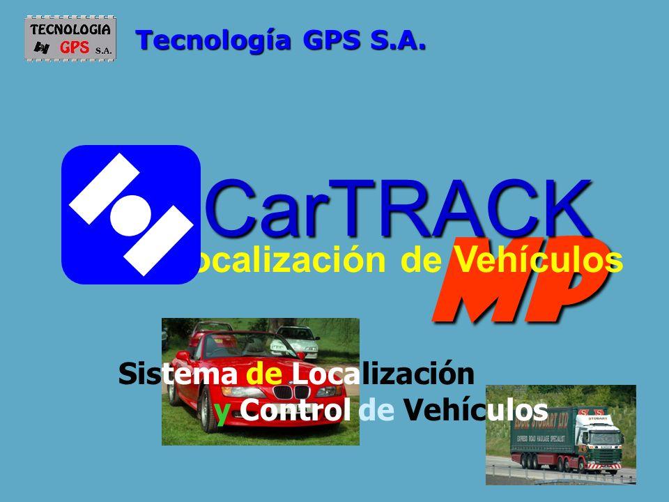 MP CarTRACK Localización de Vehículos Sistema de Localización