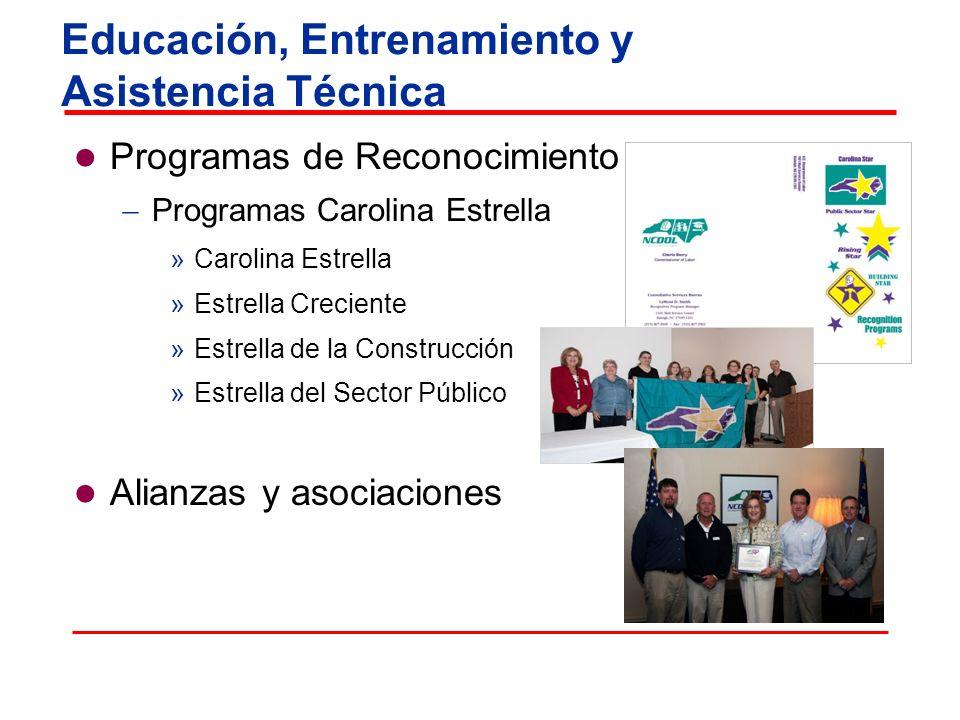 Educación, Entrenamiento y Asistencia Técnica