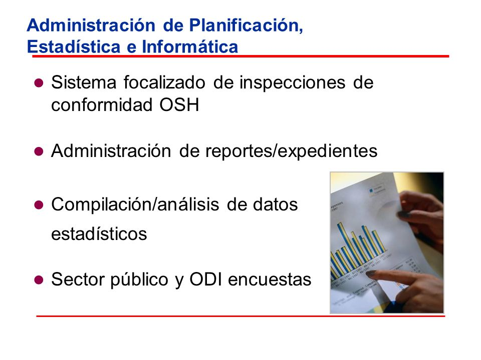 Administración de Planificación, Estadística e Informática