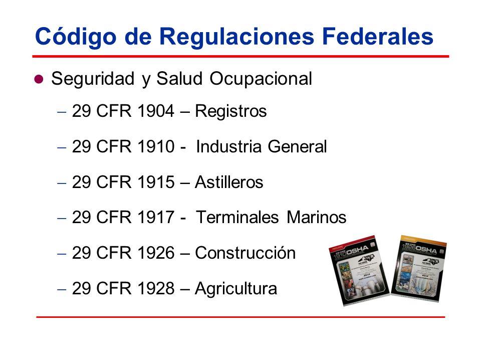 Código de Regulaciones Federales