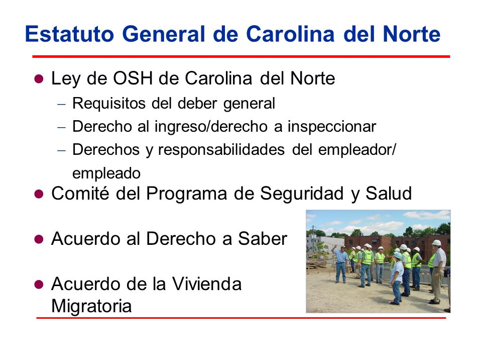 Estatuto General de Carolina del Norte