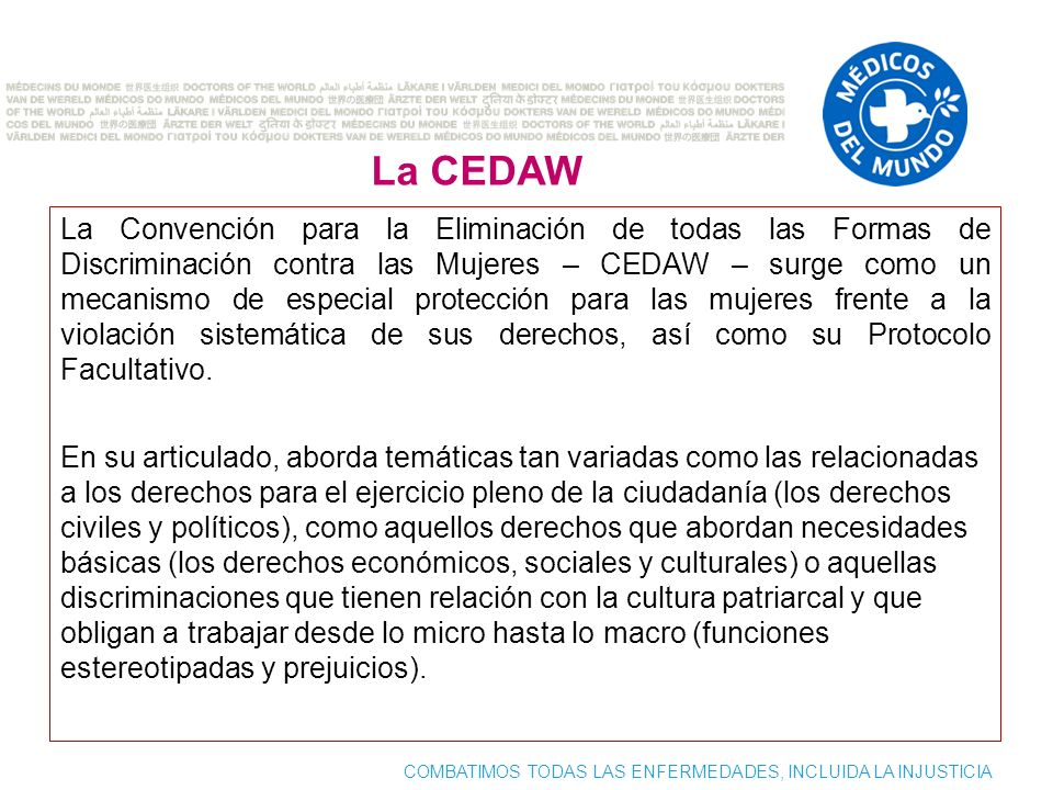 La CEDAW