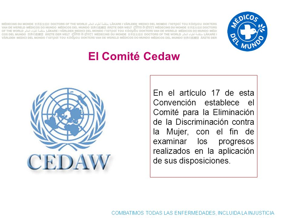 El Comité Cedaw