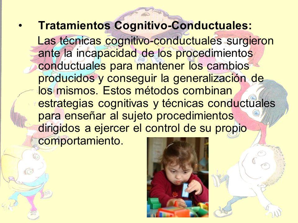 Tratamientos Cognitivo-Conductuales: