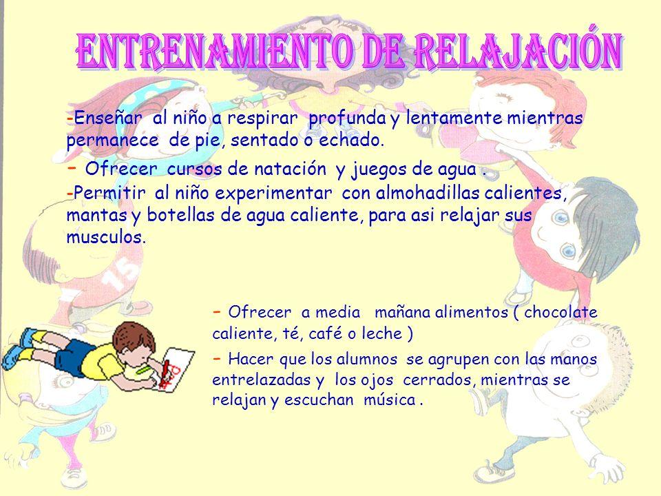 ENTRENAMIENTO DE RELAJACIÓN