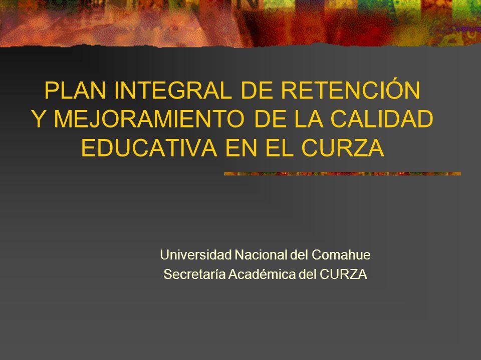 Universidad Nacional del Comahue Secretaría Académica del CURZA