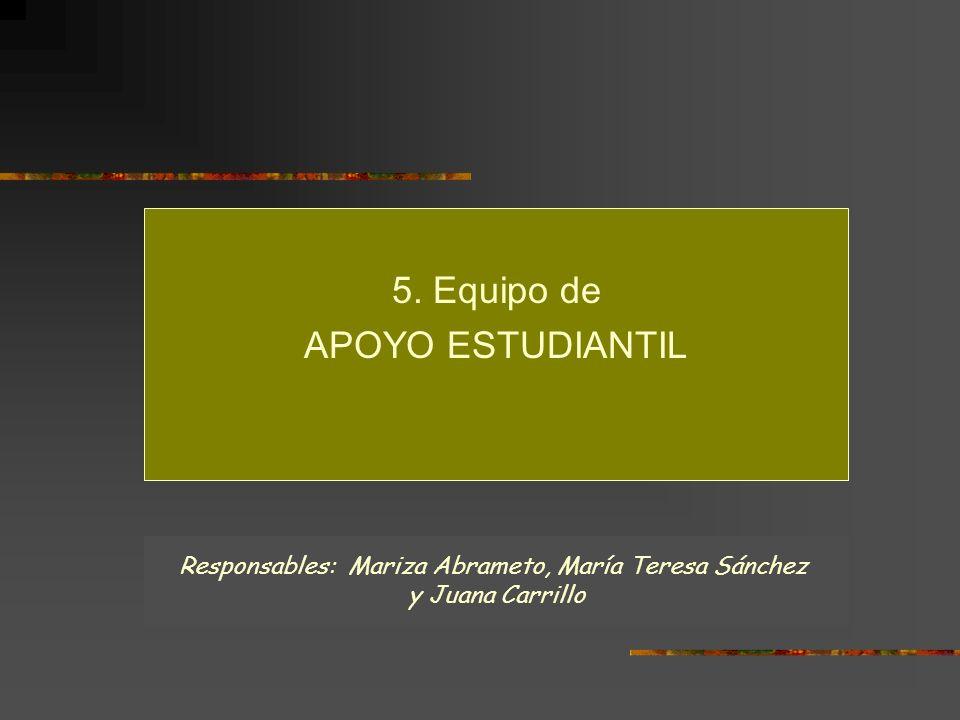 Responsables: Mariza Abrameto, María Teresa Sánchez