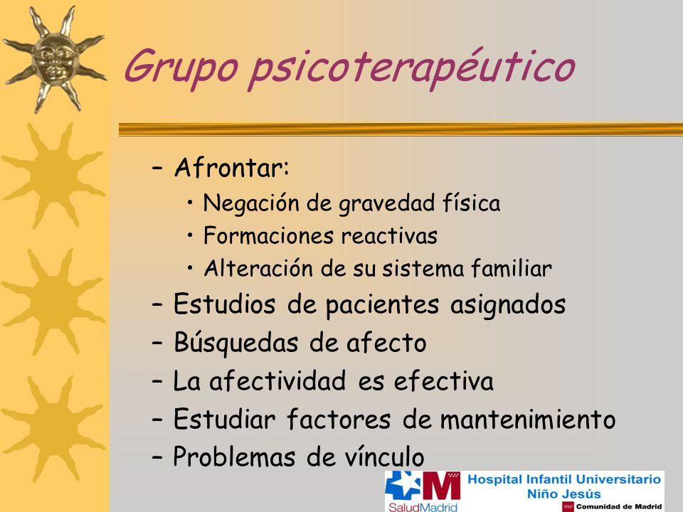 Grupo psicoterapéutico