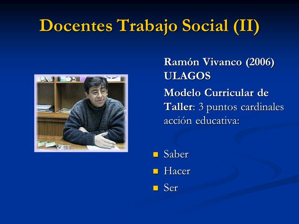 Docentes Trabajo Social (II)