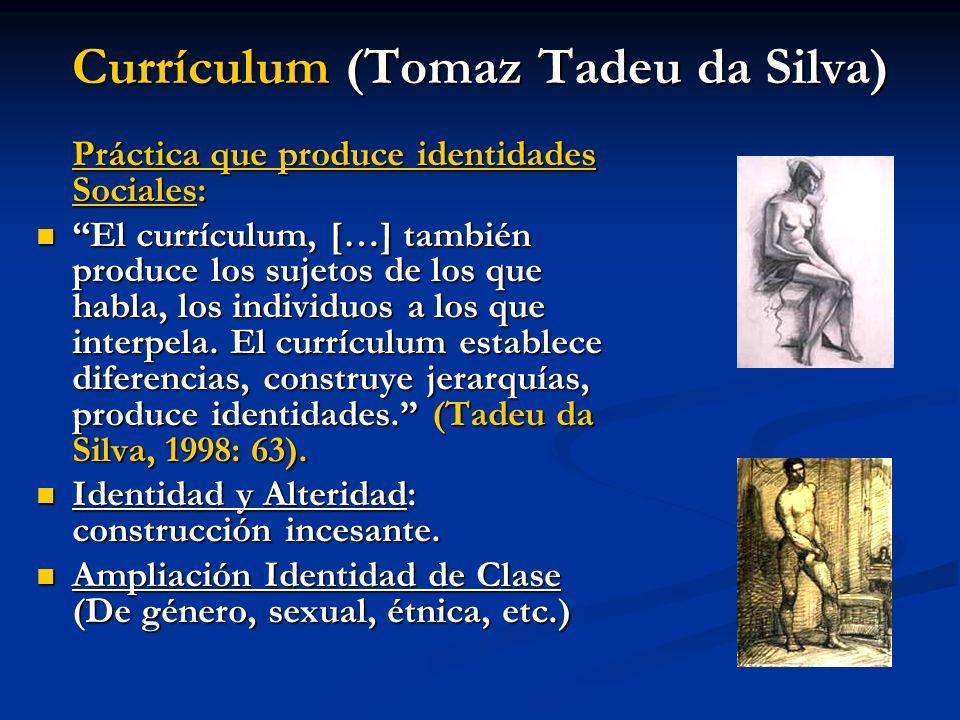 Currículum (Tomaz Tadeu da Silva)