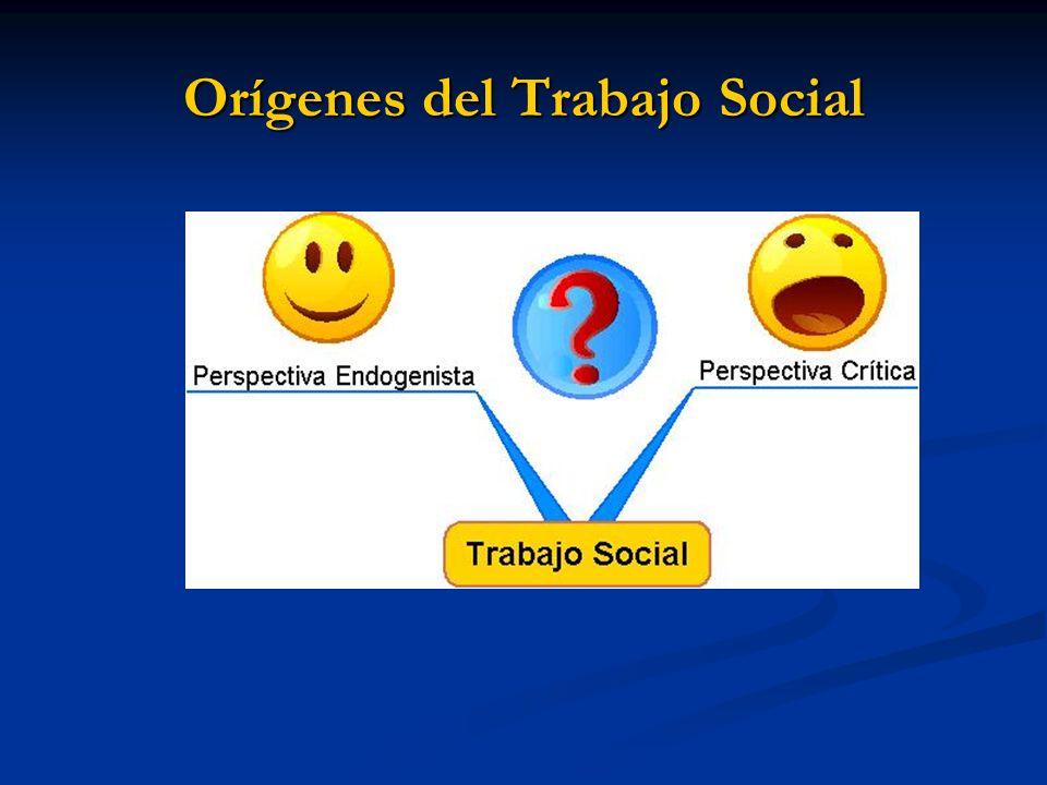 Orígenes del Trabajo Social