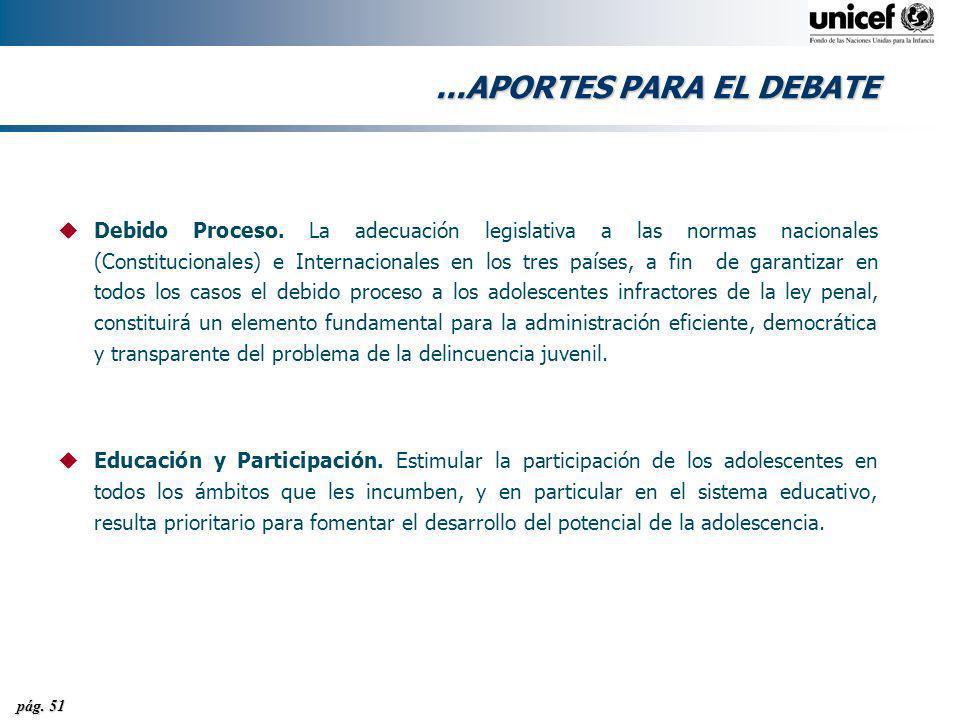 ...APORTES PARA EL DEBATE