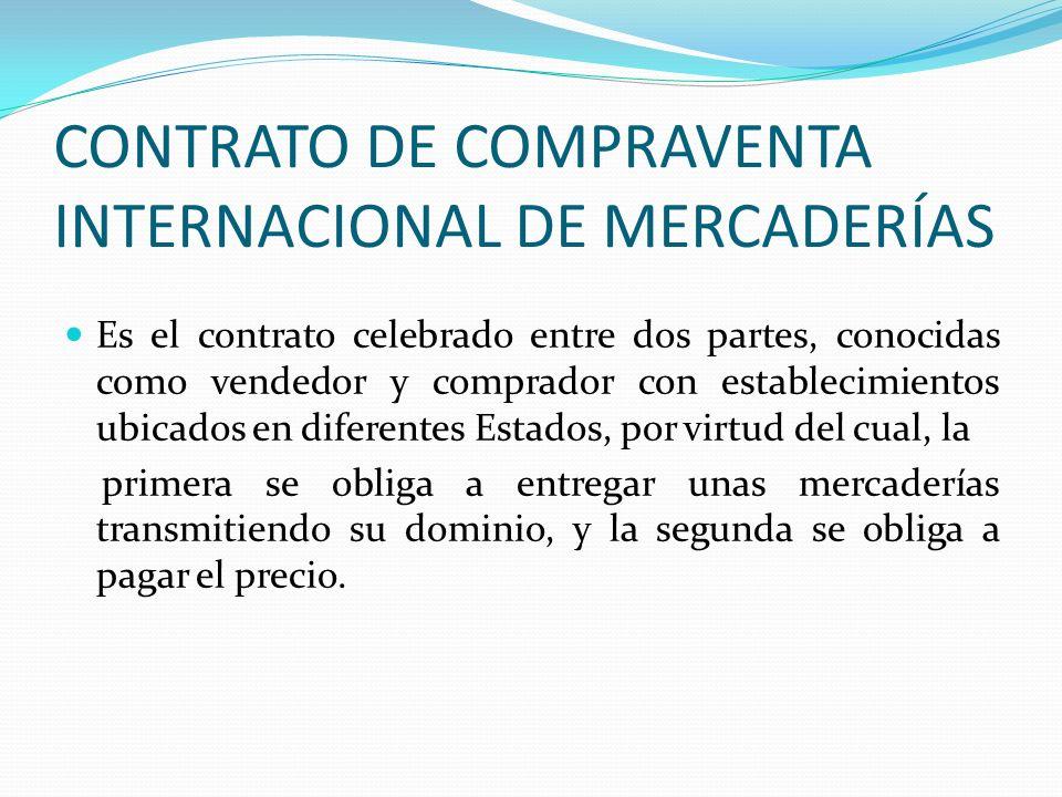 CONTRATO DE COMPRAVENTA INTERNACIONAL DE MERCADERÍAS