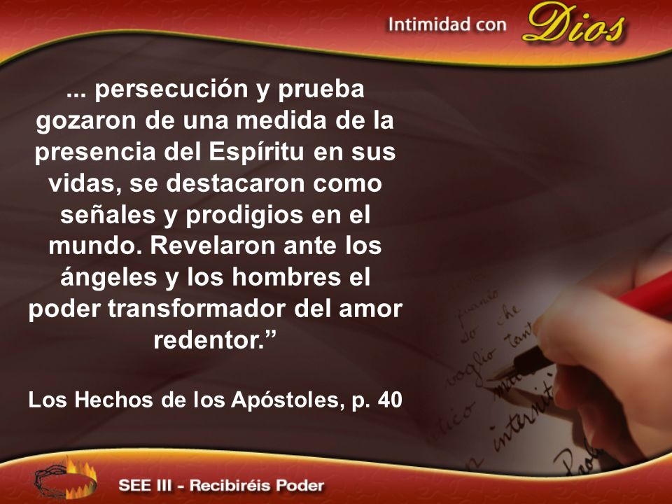 Los Hechos de los Apóstoles, p. 40