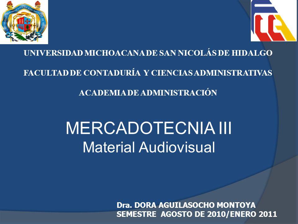 MERCADOTECNIA III Material Audiovisual