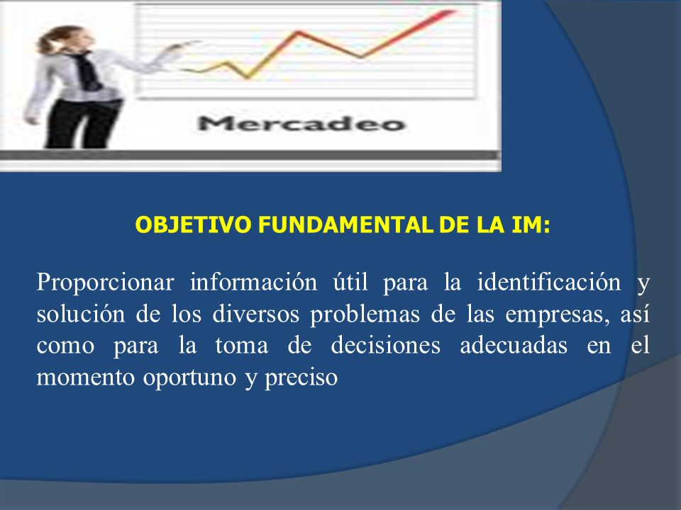 OBJETIVO FUNDAMENTAL DE LA IM: