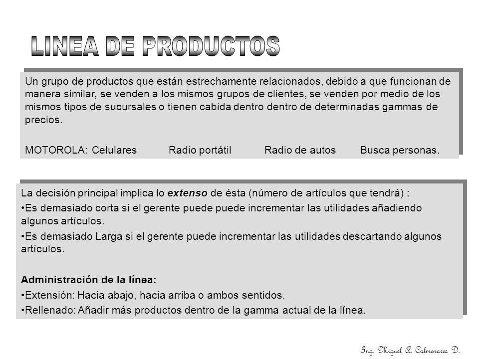 Ing. Miguel A. Colmenares D.