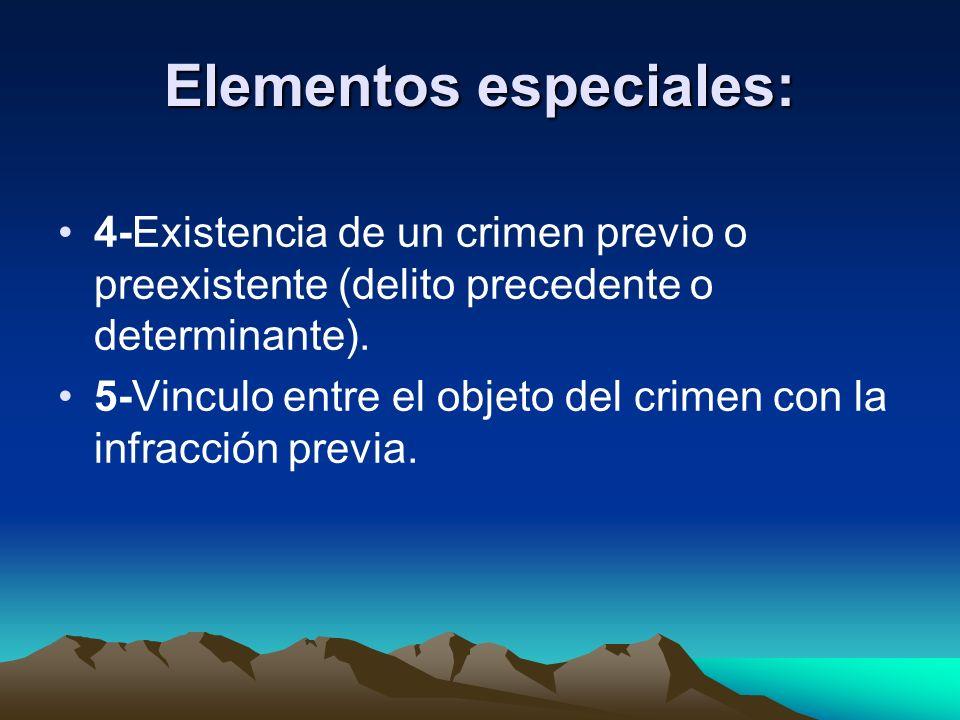 Elementos especiales: