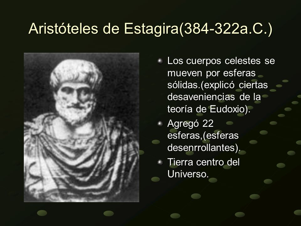 Aristóteles de Estagira(384-322a.C.)