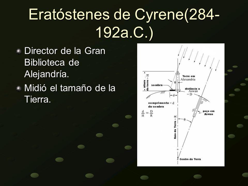 Eratóstenes de Cyrene(284-192a.C.)
