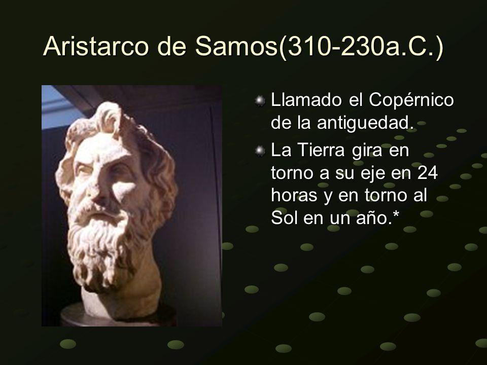 Aristarco de Samos(310-230a.C.)