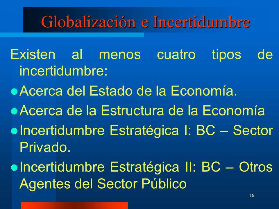Globalización e Incertidumbre