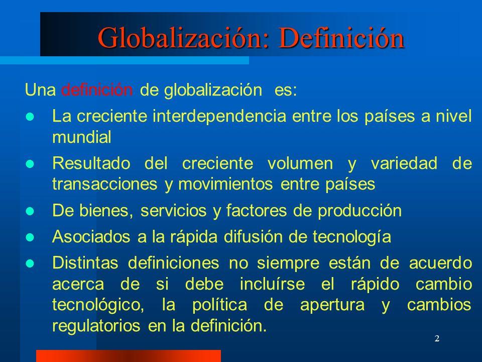 Globalización: Definición