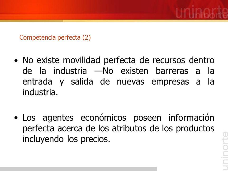 Competencia perfecta (2)