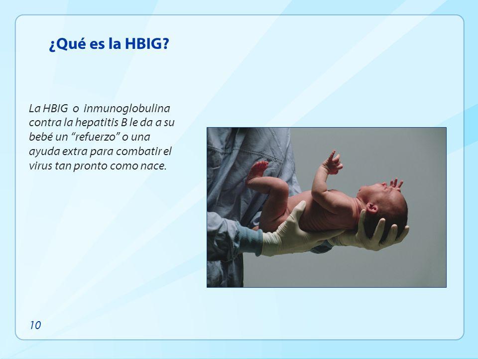 ¿Qué es la HBIG