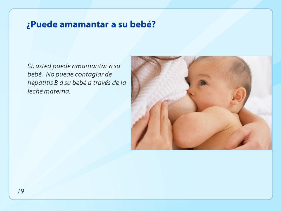 ¿Puede amamantar a su bebé
