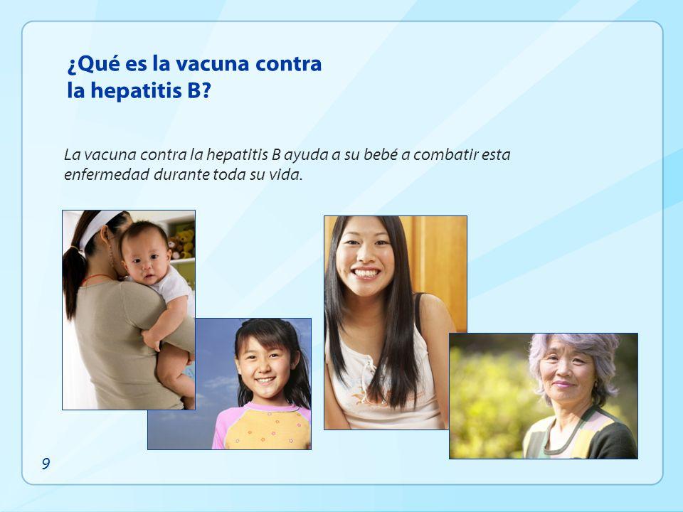 ¿Qué es la vacuna contra la hepatitis B
