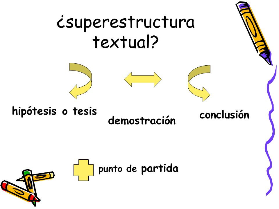 ¿superestructura textual