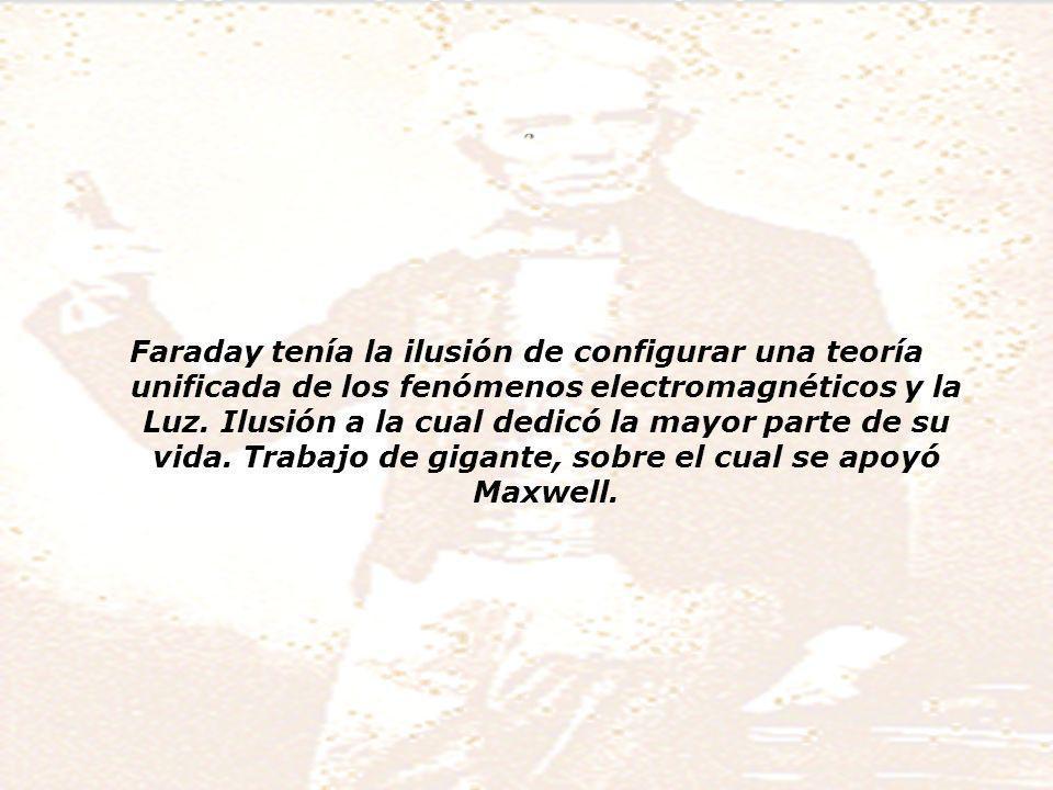 Faraday y su modelo del mundo