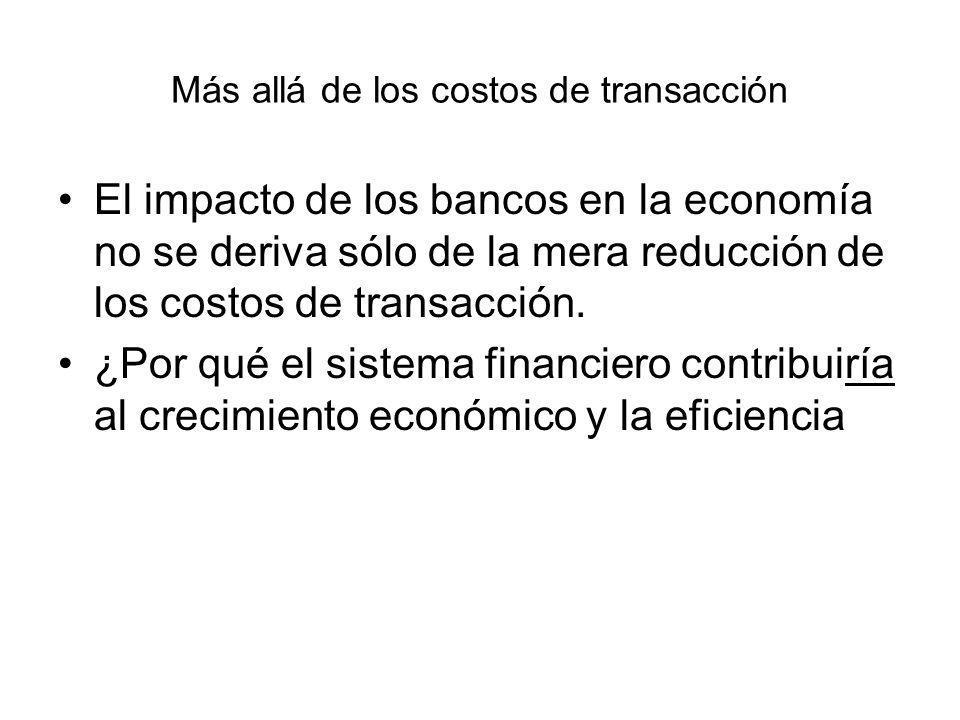 Más allá de los costos de transacción