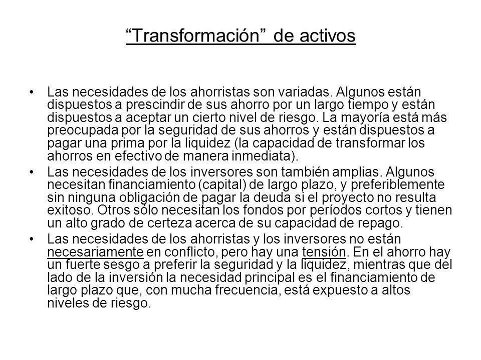 Transformación de activos