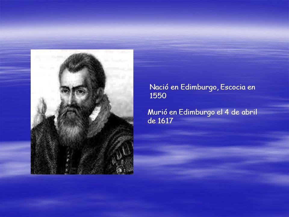 Murió en Edimburgo el 4 de abril de 1617