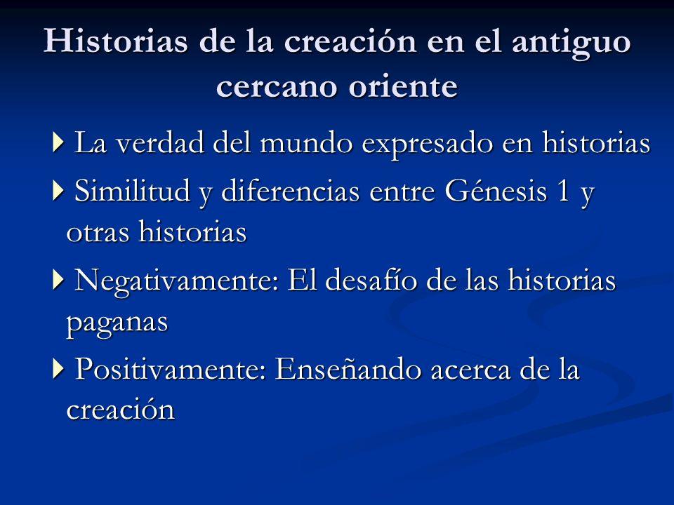 Historias de la creación en el antiguo cercano oriente