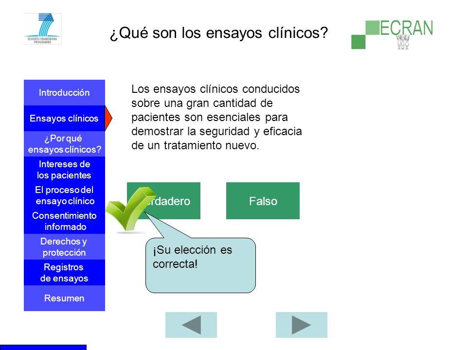 ¿Qué son los ensayos clínicos