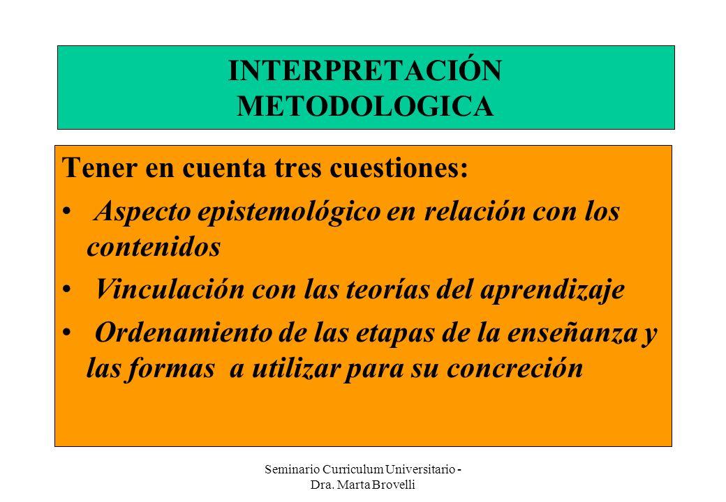 INTERPRETACIÓN METODOLOGICA