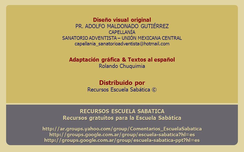 Distribuido por Diseño visual original PR. ADOLFO MALDONADO GUTIÉRREZ