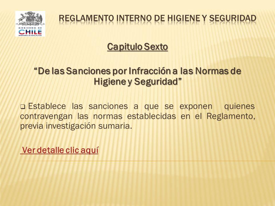 REGLAMENTO INTERNO DE HIGIENE Y SEGURIDAD