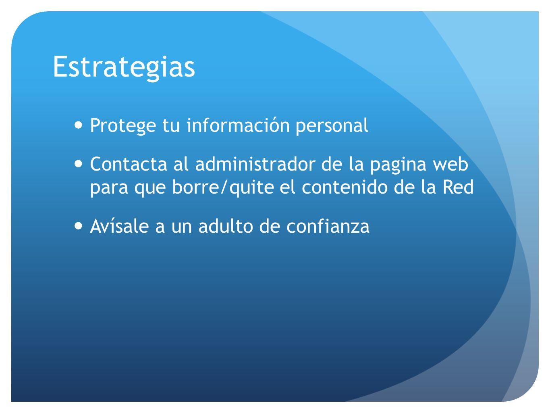 Estrategias Protege tu información personal