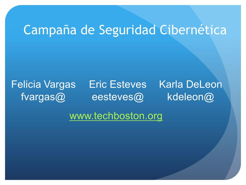 Campaña de Seguridad Cibernética