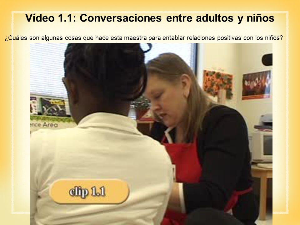 Vídeo 1.1: Conversaciones entre adultos y niños