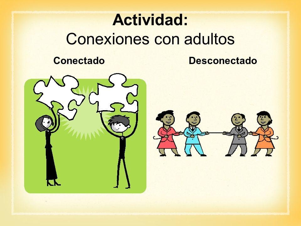Conexiones con adultos
