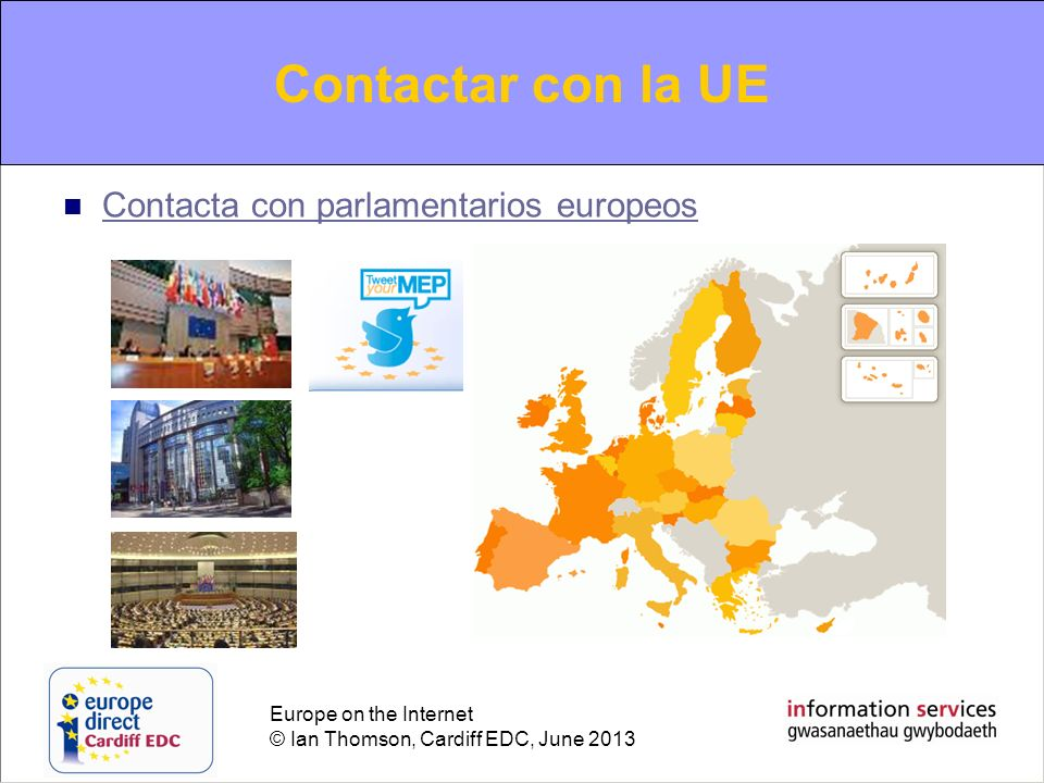Contacting the EU Contactar con la UE