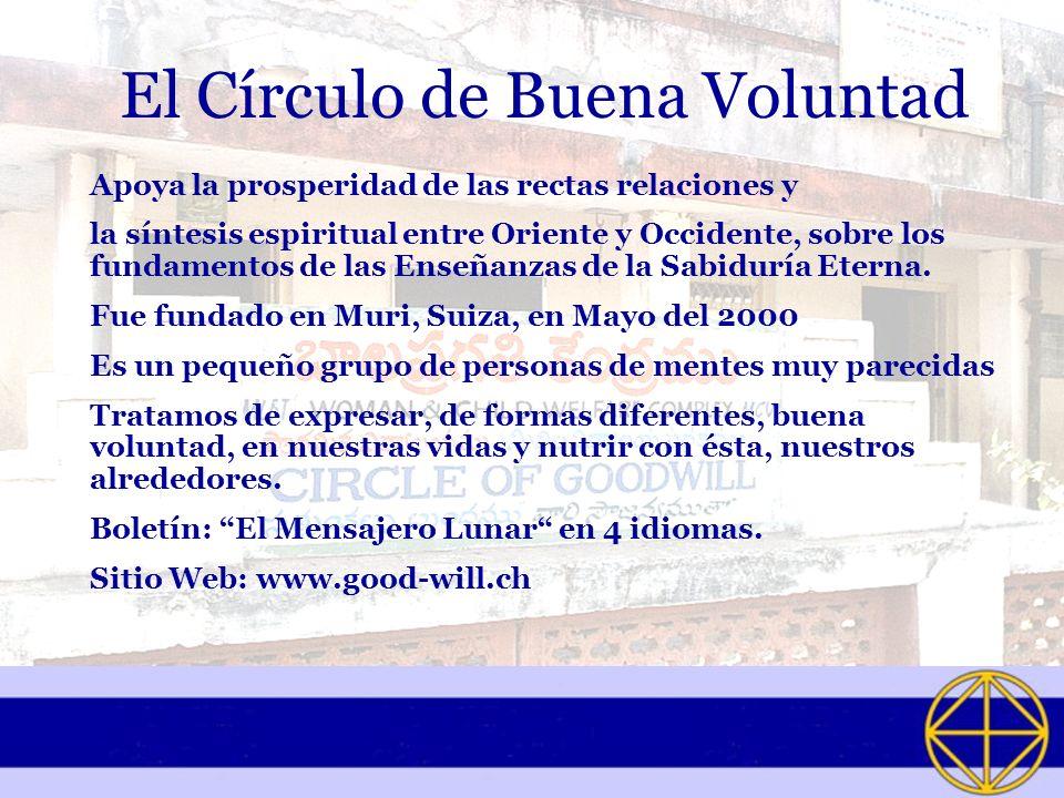 El Círculo de Buena Voluntad