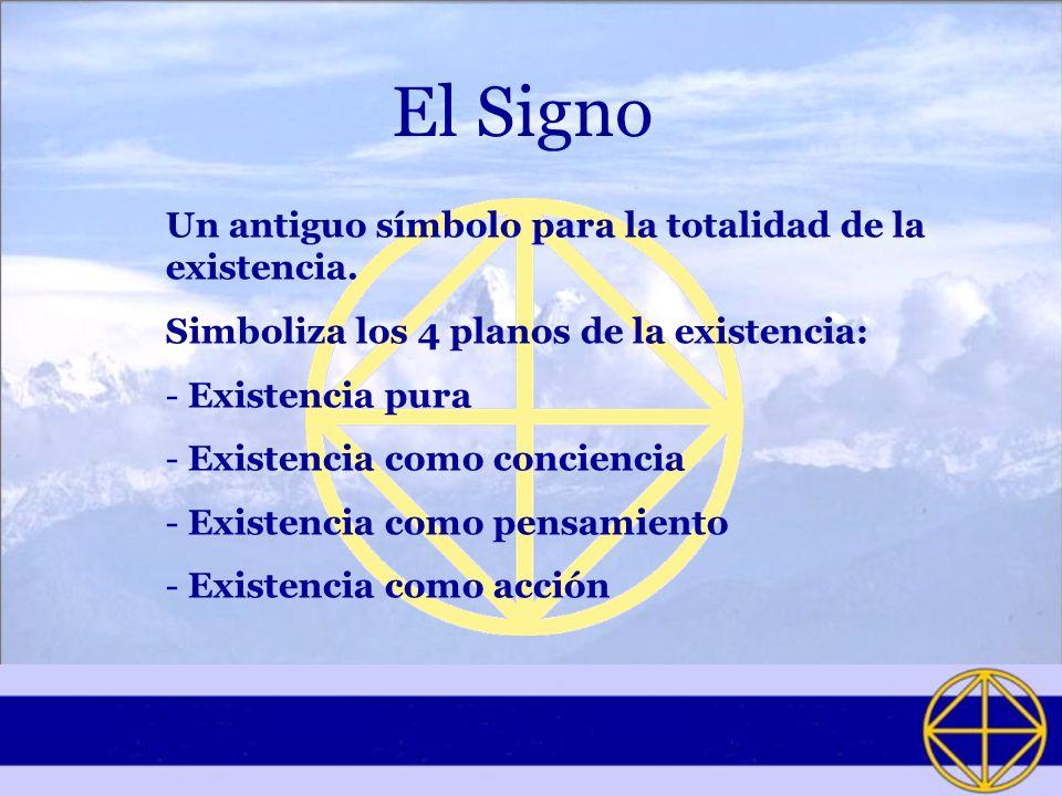 El Signo Un antiguo símbolo para la totalidad de la existencia.