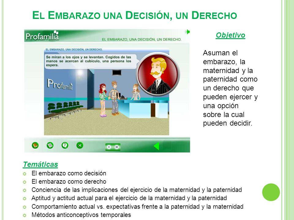 El Embarazo una Decisión, un Derecho